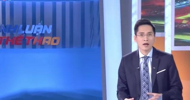 BLV Quốc Khánh chính thức xin lỗi NHM trên sóng truyền hình 1