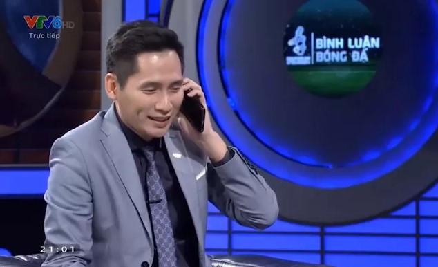 BLV Quốc Khánh chính thức xin lỗi NHM trên sóng truyền hình