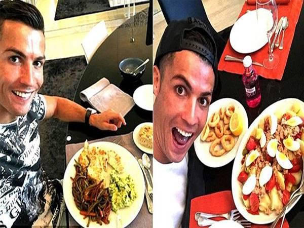 Bữa ăn và chế độ tập luyện của Ronaldo